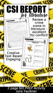 Crime Scene Investigator Police Report, Creative, Text-Based with Crime Scene Report Template