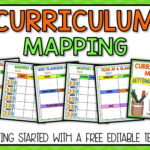 Curriculum Mapping – Grab A Free, Editable Template Now! In Blank Curriculum Map Template