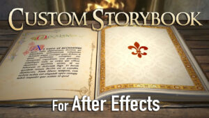 Custom 3D Fairy Tale Storybook (For After Effects) inside Fairy Tale Powerpoint Template