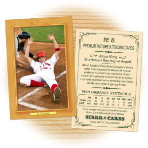 Custom Baseball Cards – Vintage 11™ Series Starr Cards inside Custom Baseball Cards Template