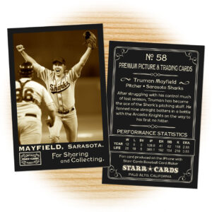 Custom Baseball Cards – Vintage 95™ Series Starr Cards intended for Custom Baseball Cards Template