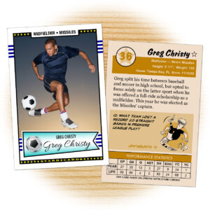 Custom Soccer Cards – Retro 50™ Series Starr Cards with regard to Soccer Trading Card Template