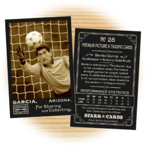Custom Soccer Cards – Vintage 95™ Series Starr Cards within Soccer Trading Card Template