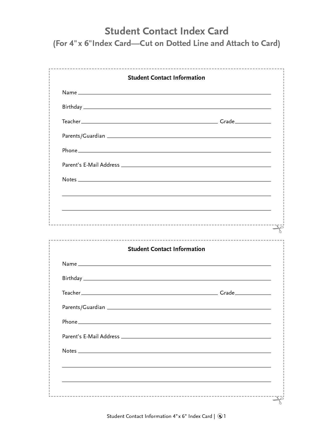 Customer Contact Information Card Template - Radiodignidad With Regard To Customer Information Card Template