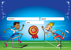 Customised Sports Day Certificate | A5 | Pupil Rewards intended for Sports Day Certificate Templates Free