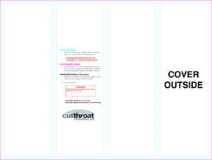 Cutthroat Printcustom Brochure Printing with 11X17 Brochure Template