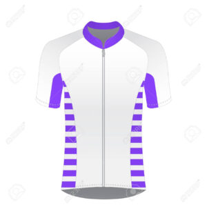 Cycling Jersey Mockup. T-Shirt Sport Design Template. Road Racing.. within Blank Cycling Jersey Template