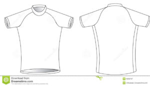 Cycling Jersey Stock Vector. Illustration Of Graphic, Simple with regard to Blank Cycling Jersey Template