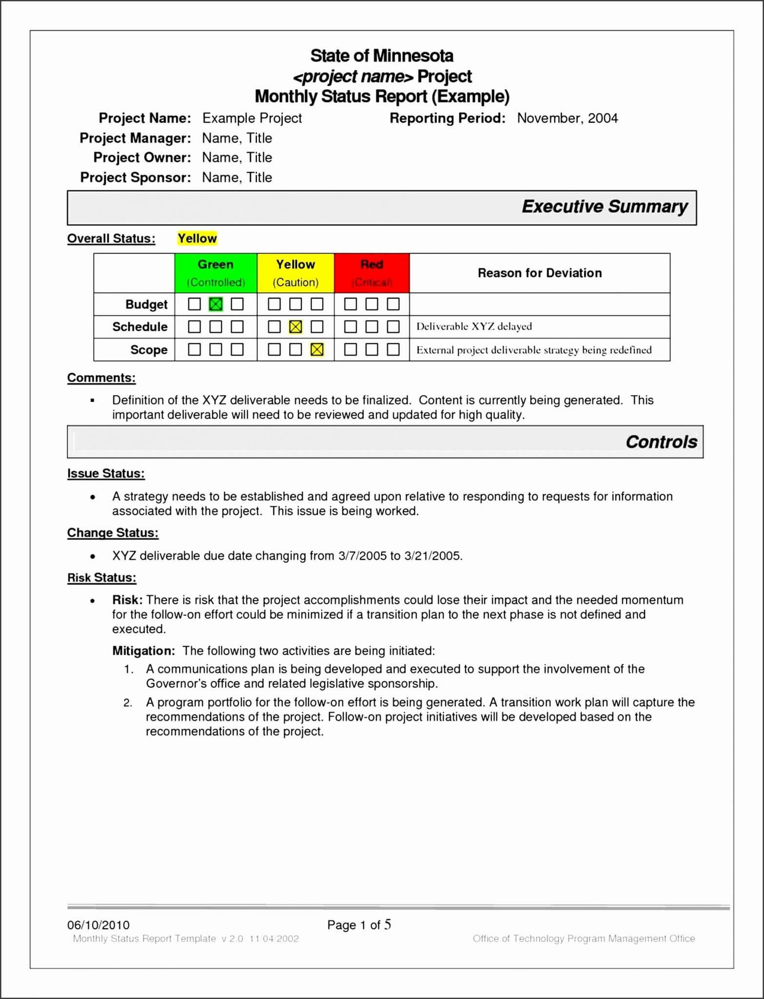 Daily Field Report Template | Glendale Community Inside Field Report Template
