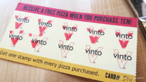 Dang It Delicious: Vinto In Park City within Frequent Diner Card Template