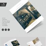 Dazzling Hotel & Travel A4 Bi Fold Brochure Template | Free Throughout Hotel Brochure Design Templates