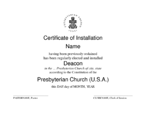 Deacon Ordination Certificate Template Modern Ordained with regard to Free Ordination Certificate Template