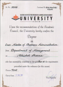 Degree: Degree Certificate Sample Degree Certificates within University Graduation Certificate Template