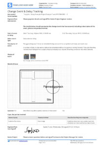 Delay Analysis Report Template: Use This Template For Free Now for Project Analysis Report Template