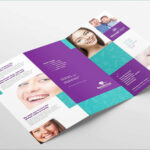 Dental Clinic Tri Fold Brochure Template In Psd Ai Beautiful In Tri Fold Brochure Template Illustrator