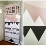 Design A Professional Retractable Pop Up Banner Using Canva Pertaining To Staples Banner Template