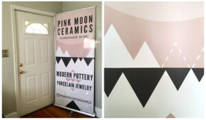 Design A Professional Retractable Pop-Up Banner Using Canva pertaining to Staples Banner Template