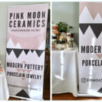 Design A Professional Retractable Pop Up Banner Using Canva Within Staples Banner Template