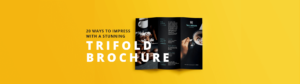Design Trifold Brochures That Get Your Business Noticed with Pop Up Brochure Template