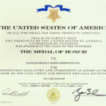 Destroyer Photo Index Ddg 112 Uss Michael Murphy Pertaining To Army Good Conduct Medal Certificate Template