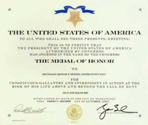 Destroyer Photo Index Ddg-112 Uss Michael Murphy pertaining to Army Good Conduct Medal Certificate Template