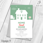 Details About New Home Cards | Change Of Address | Moving Inside Free Moving House Cards Templates