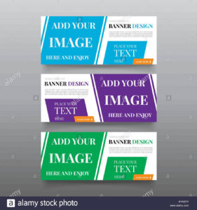Diagonal Banner Design Templates. Web Banner Design Vector in Website Banner Design Templates