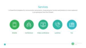 Digital Communication Premium Powerpoint Template – Slidestore in Powerpoint Templates For Communication Presentation