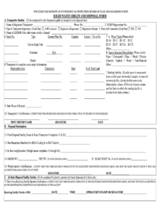 Disposal Form – Fill Online, Printable, Fillable, Blank intended for Certificate Of Disposal Template