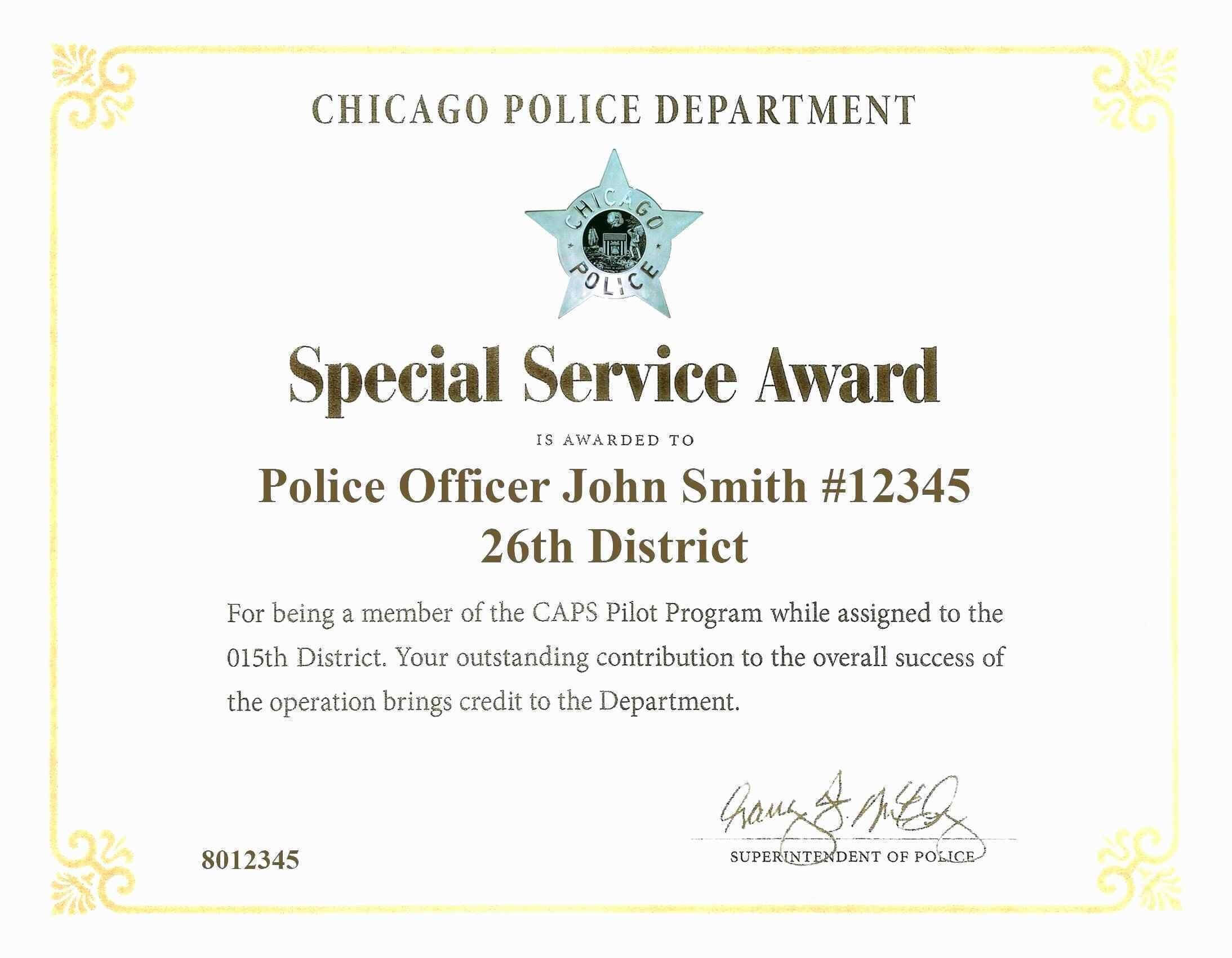 District Award Of Merit Certificate Template Brochure With Officer Promotion Certificate Template