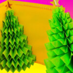 Diy 3D Christmas Tree Pop Up Card – Greeting Card Pertaining To 3D Christmas Tree Card Template