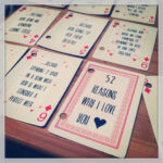 Diy 52 Things I Love About You Deck Cards Gift | Gifts in 52 Things I Love About You Deck Of Cards Template