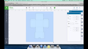 Diy Box Template For Cricut Design Space pertaining to Card Box Template Generator