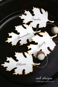Diy Fall Place Card, Free Printable Download | Printables within Free Place Card Templates Download