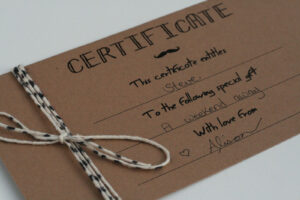 Diy Gift Certificates Template – Google Search | Yoga | Gift within Homemade Gift Certificate Template