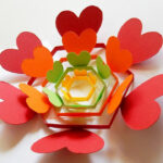 Diy Mother's Day Pop Up Templates And Tutorials – Do It Inside Heart Pop Up Card Template Free