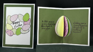 Diy Pop Up Easter Card- How To Make Easter Egg Pop Up Card Easy within Easter Card Template Ks2