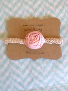 Diy: Product Display Cards | Yarnth3Ory intended for Headband Card Template