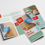 Diy Tool Supply Tri Fold Brochure Template In Psd, Ai Within Membership Brochure Template