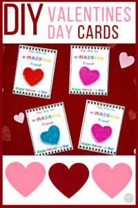 Diy Valentine's Day Cards For Kids With Free Printable within Valentine Card Template For Kids