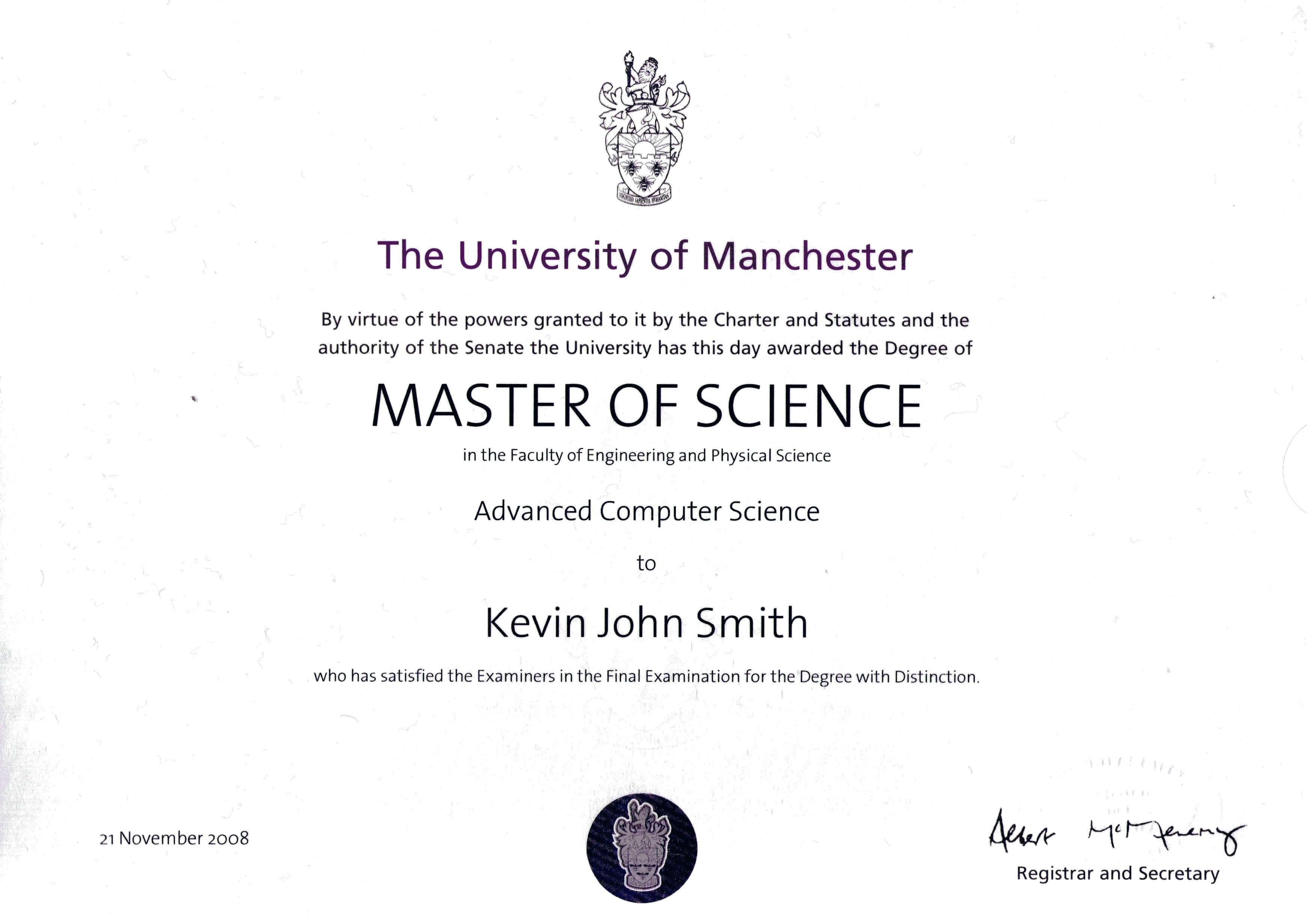 Doctorate Degree Certificate Template - Bizoptimizer Inside Doctorate Certificate Template