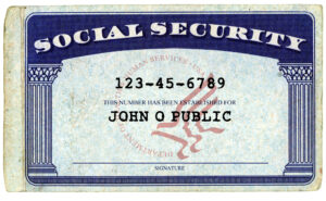 Don't Give Your Social Security Number At These Places for Editable Social Security Card Template