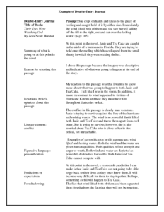 Double Entry Journals Examples – Google Search | Teaching intended for Double Entry Journal Template For Word