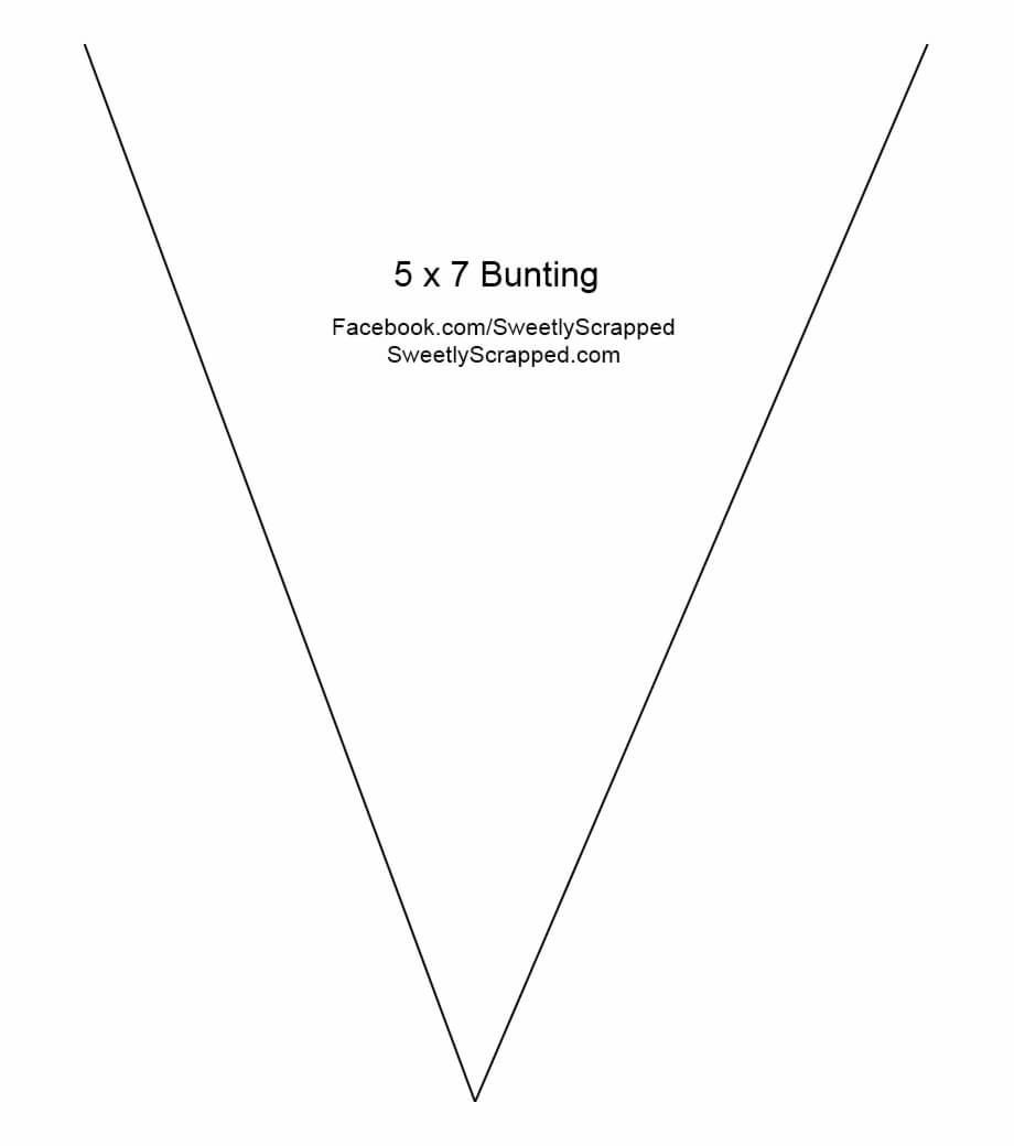 Download File – 4 X 5 Triangle Banner Template Free Png Within Triangle Banner Template Free