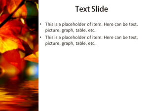Download Free Autumn Leaves Powerpoint Template For With Regard To Free Fall Powerpoint Templates