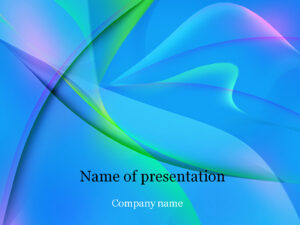 Download Free Blue Fantasy Powerpoint Template For Presentation for Microsoft Office Powerpoint Background Templates