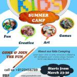 Download Free Flyer Templates | Flyer Design Inspiration Intended For Summer Camp Brochure Template Free Download