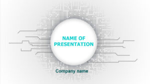 Download Free Free Tech Powerpoint Theme For Presentation inside High Tech Powerpoint Template