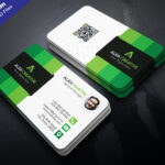 Download Free Modern Business Card Template Psd Set – Psdcb Within Template Name Card Psd