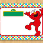 Download Free Printable Elmo Birthday Invitations | Bagvania Intended For Elmo Birthday Card Template